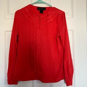 Red Dress Shirt Extra Small
